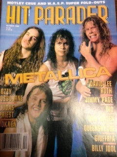 October 1986 - Heavy Metal via the pages of Hit Parader magazine